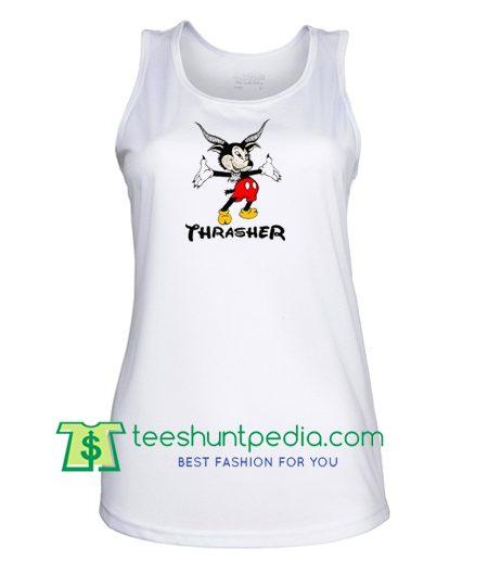 Disney Thrasher Mickey Tank Top gift shirt unisex custom clothing Size S-3XL