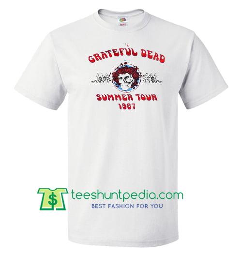 b47d82bedf7e Grateful Dead Summer Tour 1987 Shirt gift tees adult unisex custom clothing  Size S-3XL