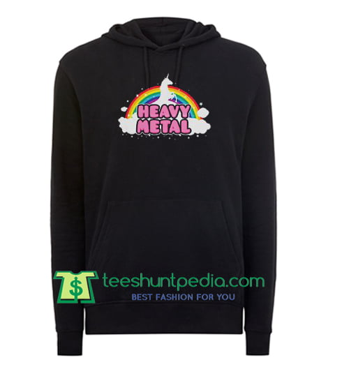 Heavy Metal Unicorn Hoodie Maker Cheap