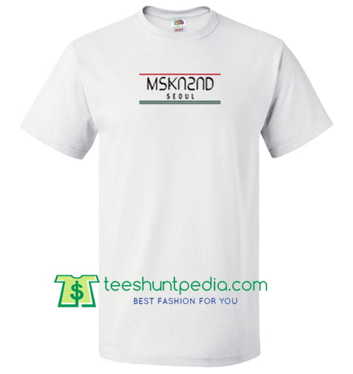 MSKN2ND Seoul T Shirt gift tees adult unisex custom clothing Size S-3XL