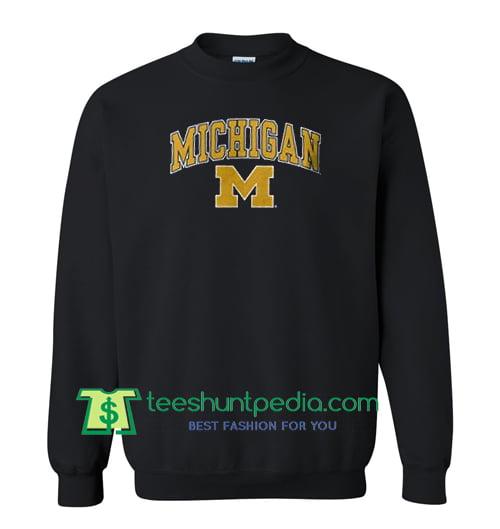 Michigan Logo Sweatshirt Maker Cheap