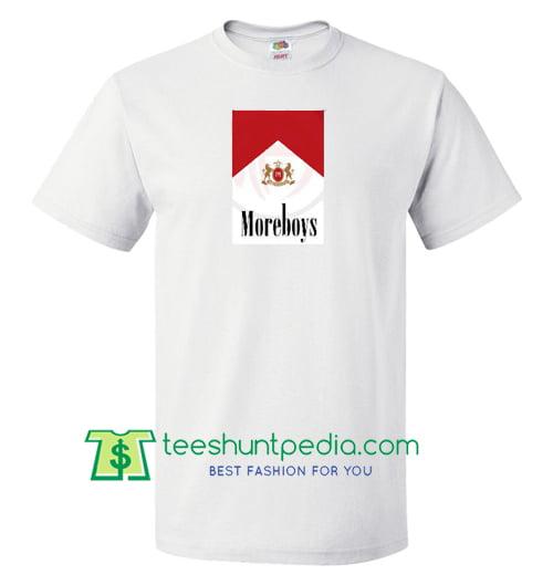 More Boys Parody Marlboro Cigarettes T Shirt gift tees adult unisex custom clothing Size S-3XL