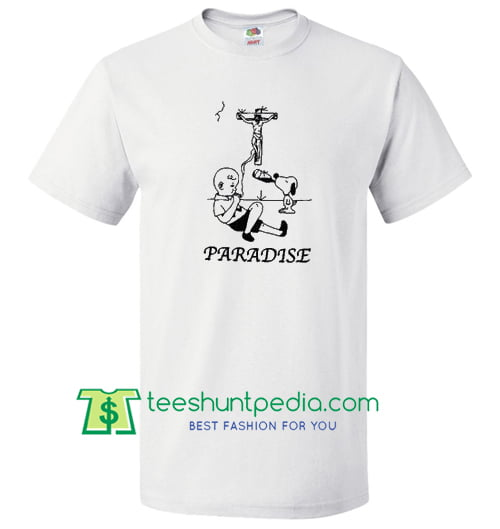 Paradise Charlie Brown T Shirt gift tees adult unisex custom clothing Size S-3XL