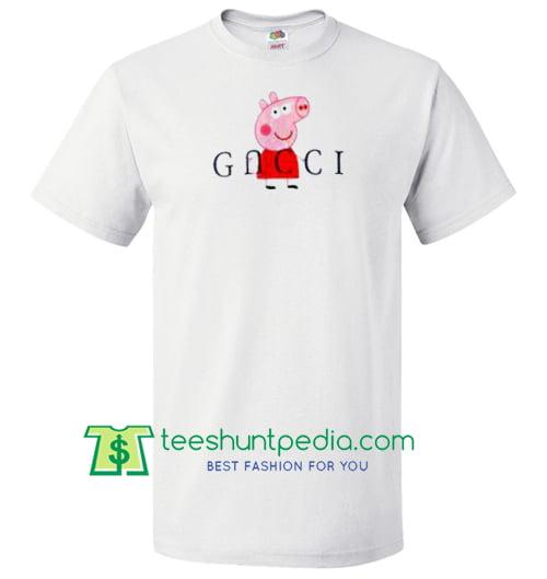72eda345 Peppa Pig Red Gcc Parody T Shirt gift tees adult unisex custom clothing  Size S-3XL