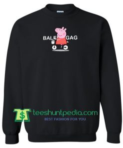 Peppa Pig X Balenciaga Parody Sweatshirt Maker Cheap