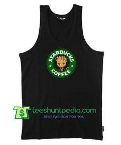 Starbucks Coffee Groot Unisex Tank Top gift shirt unisex custom clothing Size S-3XL