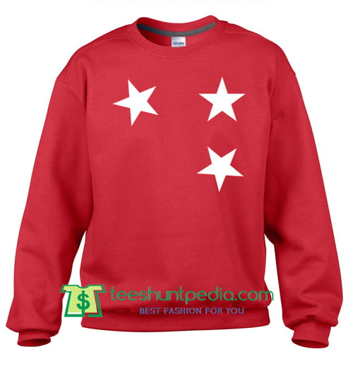 Stars Unisex Sweatshirt Maker Cheap