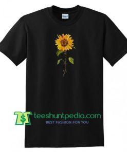 Sun Flowers T Shirt gift tees adult unisex custom clothing Size S-3XL