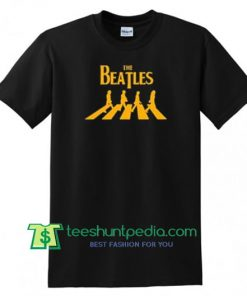 The Beatles Abbey Road T Shirt gift tees adult unisex custom clothing Size S-3XL
