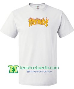 Trends Thrasher Flame I Swear I Skate T Shirt gift tees adult unisex custom clothing Size S-3XL