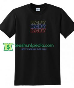 Triple Baby T Shirt gift tees adult unisex custom clothing Size S-3XL