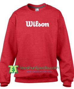 Wilson Sweatshirt Maker Cheap