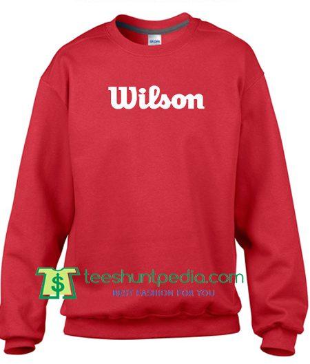 Wilson Sweatshirt Maker Cheap