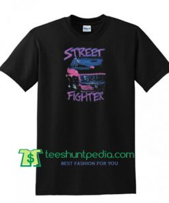 Street Fighter T Shirt gift tees adult unisex custom clothing Size S-3XL
