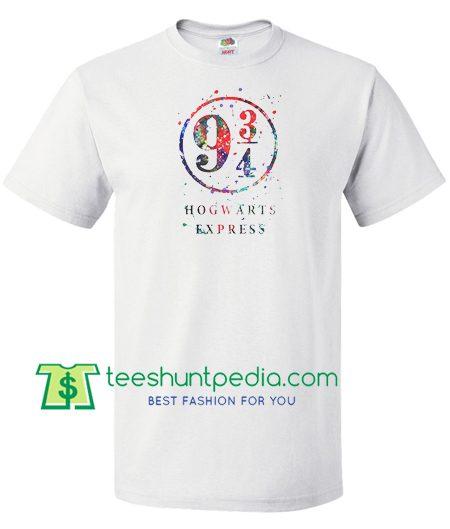 9 34 Hogwarts Express T Shirt gift tees adult unisex custom clothing Size S-3XL
