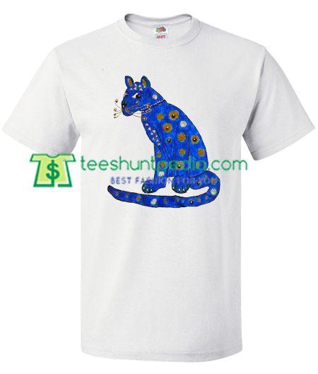 Abba Blue Cat T Shirt gift tees adult unisex custom clothing Size S-3XL