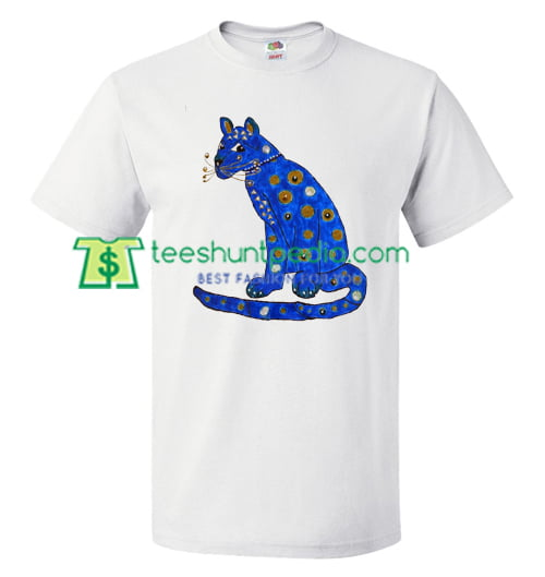 Abba Blue Cat T Shirt gift tees adult unisex custom clothing Size S-3XL