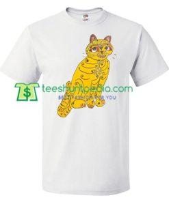 Abba Cat T Shirt gift tees adult unisex custom clothing Size S-3XL