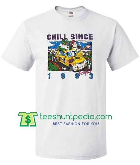 Brandy Melville Chill Since 1993 T Shirt gift tees adult unisex custom clothing Size S-3XL