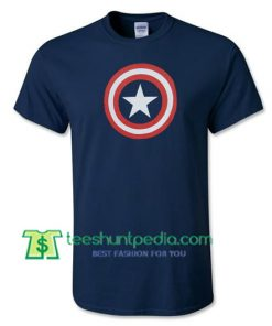 Captain America Logo T Shirts gift tees adult unisex custom clothing Size S-3XL