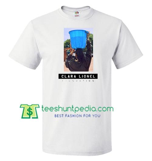 Clara Lionel Foundation T Shirt gift tees adult unisex custom clothing Size S-3XL