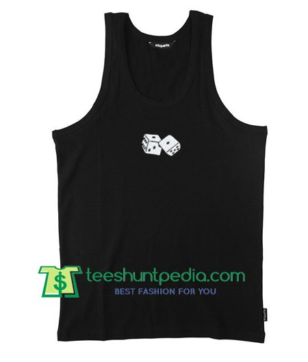 Classic Dice Tank top gift shirt unisex custom clothing Size S-3XL