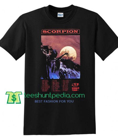 Drake Scorpion T Shirt gift tees adult unisex custom clothing Size S-3XL