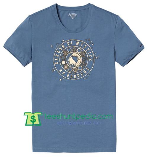 Garden Of Mystics No Burdens T Shirt gift tees adult unisex custom clothing Size S-3XL