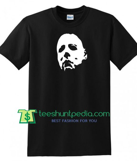HALLOWEEN Mask T Shirt, Michael Myers Horror 1978 Jason Freddy Movie Horror Tee gift tees adult unisex custom clothing Size S-3XL