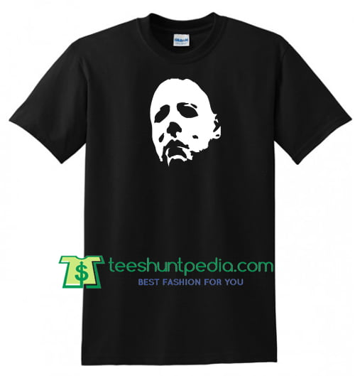 HALLOWEEN Mask T Shirt, Michael Myers Horror 1978 Jason Freddy Movie Horror Tee gift tees adult unisex custom clothing Size S-3XL