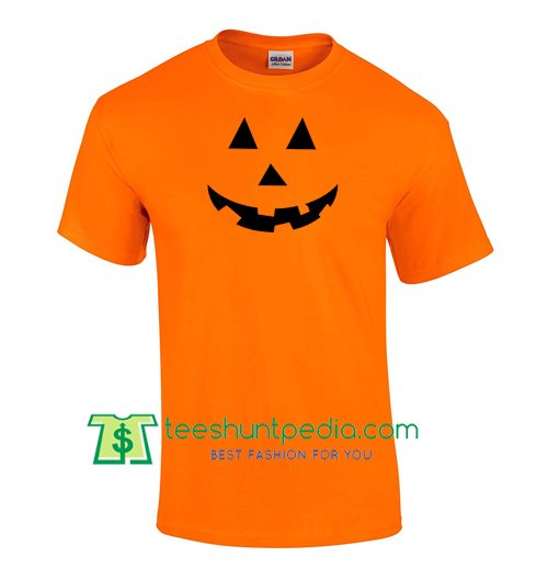 af9a015c Halloween Pumpkin Face Scary Eyes Mouth T Shirt gift tees adult unisex  custom clothing Size S-3XL