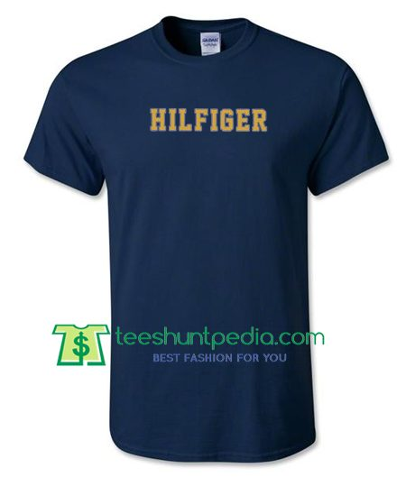 Hilfiger T Shirt gift tees adult unisex custom clothing Size S-3XL