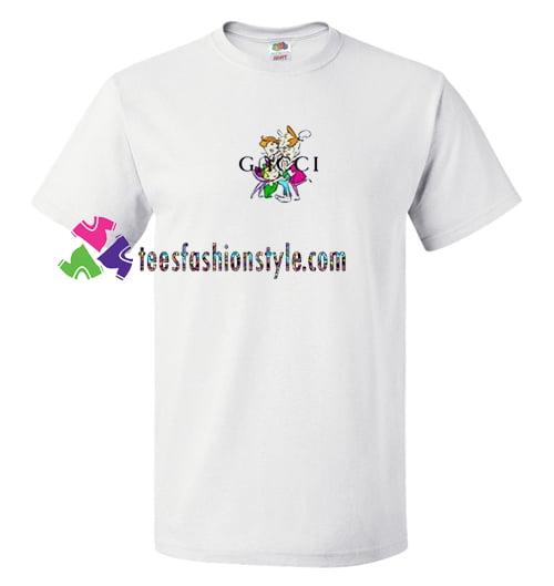 4441c4ec121 Jetsons Gucci Parody T Shirt gift tees adult unisex custom clothing Size  S-3XL