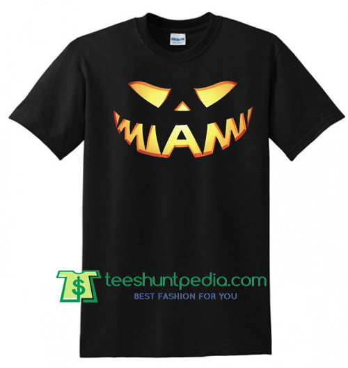 Miami Halloween T shirt gift tees adult unisex custom clothing Size S-3XL