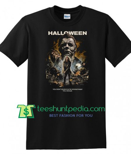 Michael Myers Halloween 2018 Shirt gift tees adult unisex custom clothing Size S-3XL