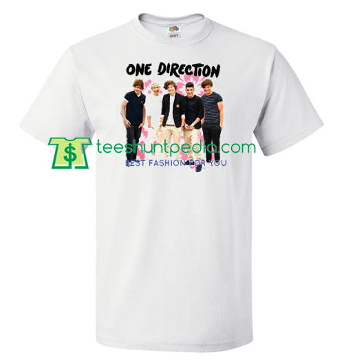 ddbe3f62 One Direction T Shirts Gift Tees Uni Custom Clothing Size S 3xl