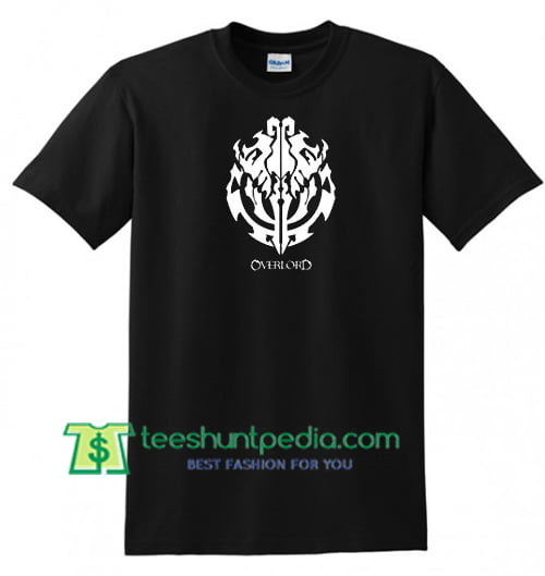 super service select for latest drop shipping Overlord T Shirt Anime Graffiti Shirt gift tees adult unisex custom  clothing Size S-3XL