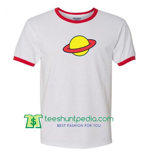 Planet Ringer T Shirt gift tees adult unisex custom clothing Size S-3XL