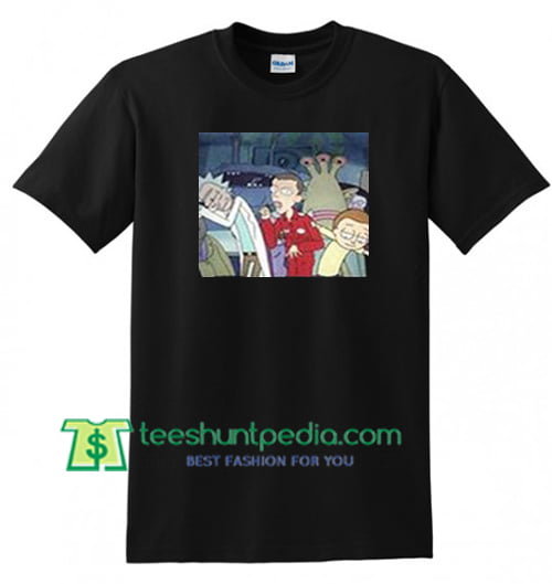 Rick and Morty Tour Shirts gift tees adult unisex custom clothing Size S-3XL