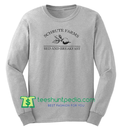 58788c9f0 Schrute Farms Bed and Breakfast Sweatshirt Maker Cheap from ...