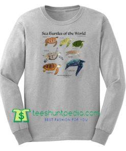 Sea Turtles of The World Sweatshirt Maker Cheap