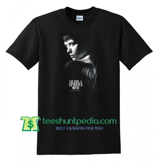 The GIRL in the SPIDER Movie 2018 T Shirt gift tees adult unisex custom clothing Size S-3XL