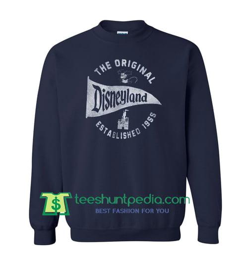 The Original Disneyland Established 1955 Sweatshirt Maker Cheap