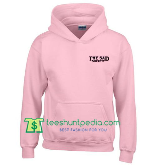 The Sad Society Hoodie Maker Cheap