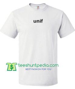 Unif Font T Shirt gift tees adult unisex custom clothing Size S-3XL