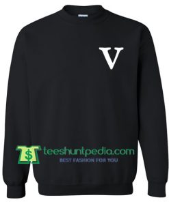V Font Sweatshirt Maker Cheap