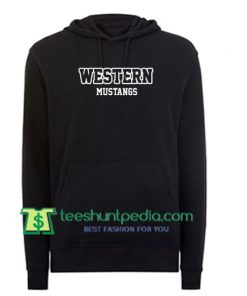 Western Mustangs Hoodie Maker Cheap