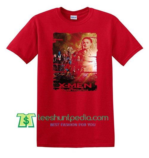 X-men Dark Phoenix 2018 Movie T Shirt gift tees adult unisex custom clothing Size S-3XL