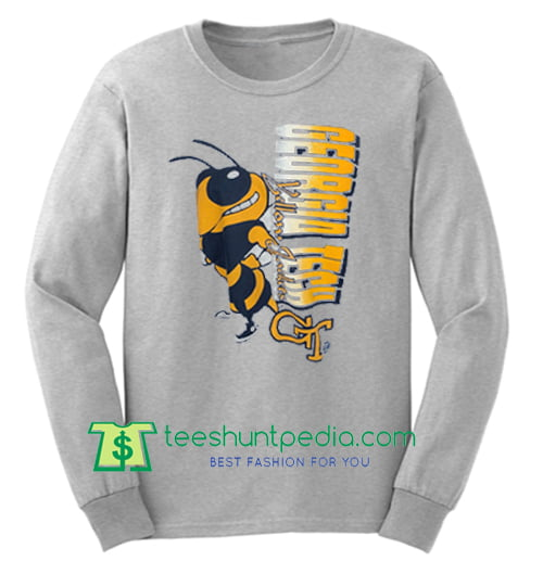 George Tech Yellow Jackets Sweatshirt Maker Cheap
