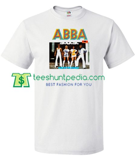 Abba SOS T Shirt gift tees adult unisex custom clothing Size S-3XL